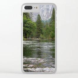 Yosemite Merced River Clear iPhone Case