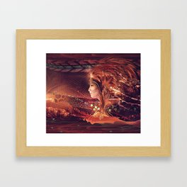 Shadow of a Thousand Lives - Visionary - Manafold Art Framed Art Print