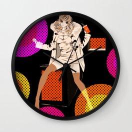 RETRO POP / DUFFLE COAT Wall Clock