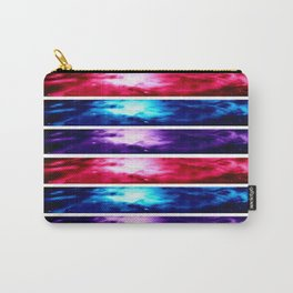 Orion NebuLA Panel Art : Pink Blue Purple Carry-All Pouch