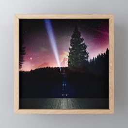 Never Alone Framed Mini Art Print