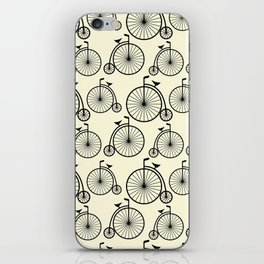 Vintage Bike iPhone Skin