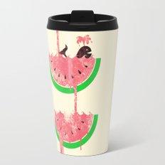 watermelon falls Travel Mug