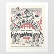 Exorcism Cream Art Print