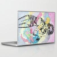 aquarius Laptop & iPad Skins featuring Aquarius by Heaven7