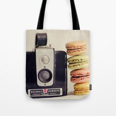 A Brownie and some macarons Tote Bag