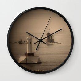 A Lighthouse & Beacon Wall Clock