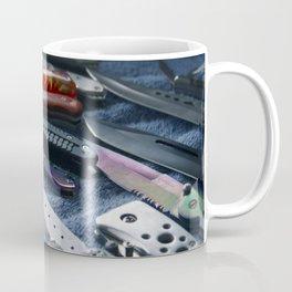 Knives at a Flea Market Coffee Mug