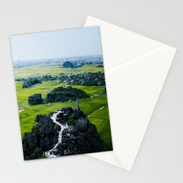 Ninh Binh From Above Stationery Cards