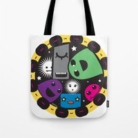 poker Tote Bags featuring poker by justine
