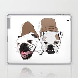 English Bulldogs Laptop & iPad Skin