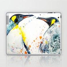 King Penguins Love Laptop & iPad Skin