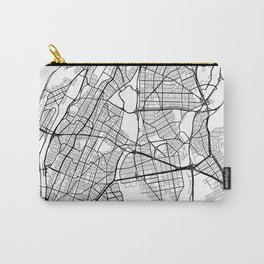 The Bronx New York Street Map Carry-All Pouch