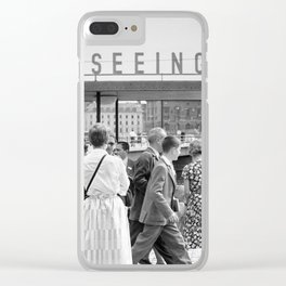 Stockholm 1950 Clear iPhone Case