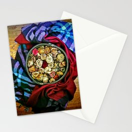 Roses and Wood Stationery Cards