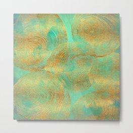 Jungle Theorem Abstract Metal Print