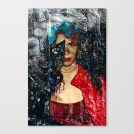 Through the Wall Canvas Print