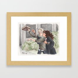Give that back [Dramione] Framed Art Print