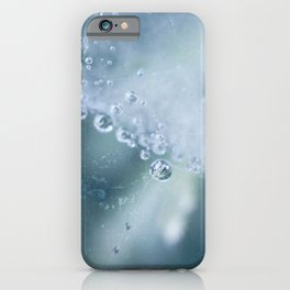 Dewdrops collection #1 iPhone Case