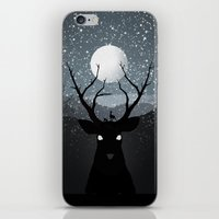 bambi iPhone & iPod Skins featuring Bambi by Rowan Stocks-Moore