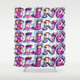 BLING! Shower Curtain