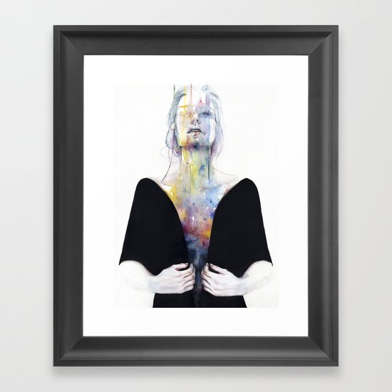 another one (inside the shell)  Framed Art Print
