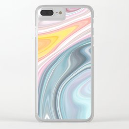 GOOD VIBES Clear iPhone Case
