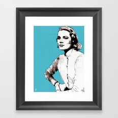 Grace Kelly Framed Art Print