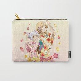 Mami Tomoe & Nagisa Momoe - Love Yukata edit. Carry-All Pouch