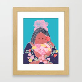 Appreciating the Small Things in Life Framed Art Print