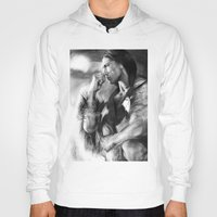 native american Hoodies featuring Native American  by Thubakabra