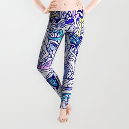 Kamasutra LOVE - Indigo Blue Leggings