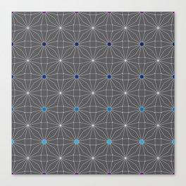 Mesh pattern Canvas Print