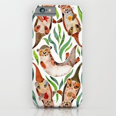 Five Otters – Green Seaweed iPhone 6s Slim Case