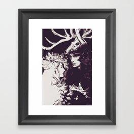 Old Forest Gods - NBC Hannibal Bedelia Framed Art Print