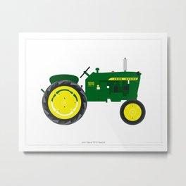 John Deere 1010 Tractor Metal Print