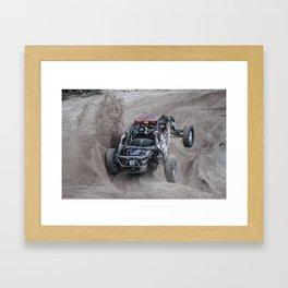 Driving My Life Away Framed Art Print