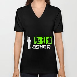 Archer Asher Unisex V-Neck