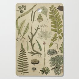 Ferns And Mosses Cutting Board