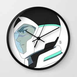 Black Paladin Wall Clock