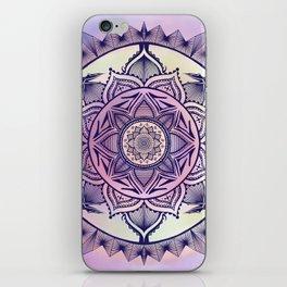 Tie-dye Mandala iPhone Skin