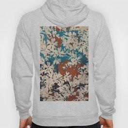 Weston Flowers, blues & browns Hoody