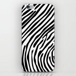 Skin of a zebra iPhone Skin
