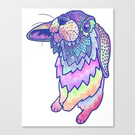 HAPPY EASTER RABBIT Canvas Print