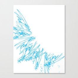 Scratchy scratch Canvas Print