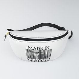 MADE IN MICHIGAN Barcode Fanny Pack
