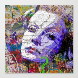 Garbo Canvas Print