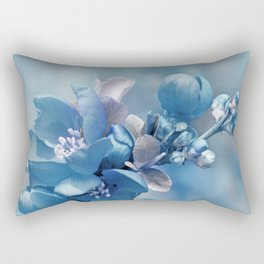 Blue 81 Rectangular Pillow