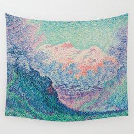 Paul Signac Les Diableretes Wall Tapestry