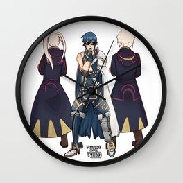 Deal with Chrom Wall Clock
